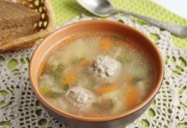Острый рисовый суп с фрикадельками рецепт с фото