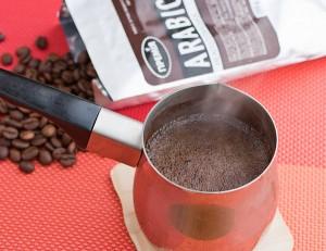 варим очень крепкий кофе