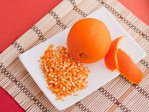 апельсиновую корочку очень мелко режим