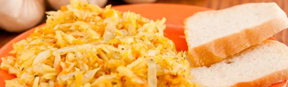 Как приготовить тушеную капусту вкусную