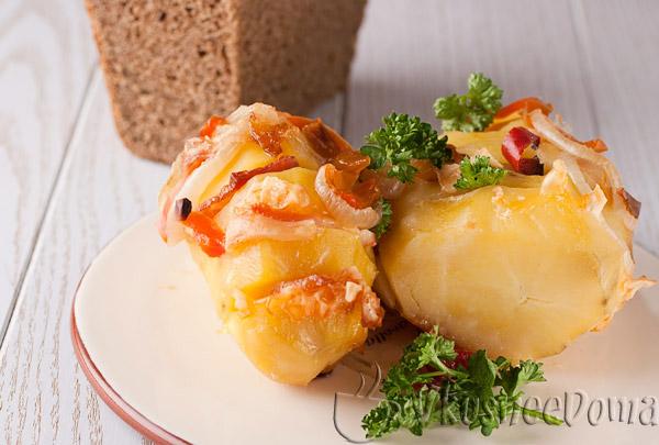Картошка гармошка очень вкусно быстро и просто