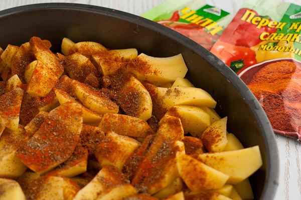 Простые рецепты жаренной картошки