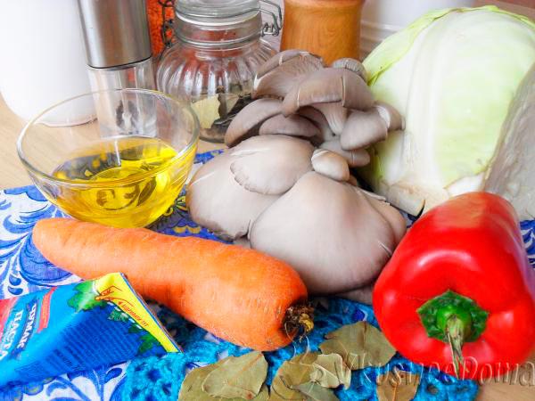 продукты для тушеной капусты