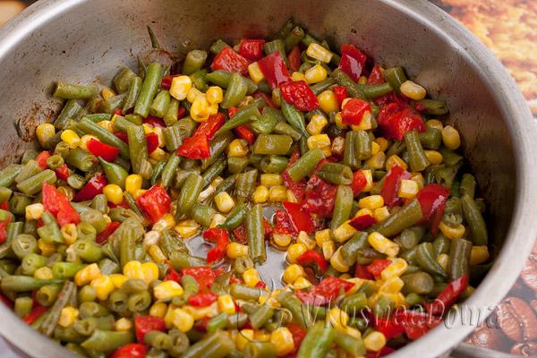 овощи обжариваем