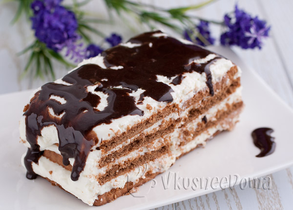 Рецепт творожного торта с фото