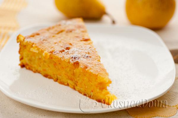 тыквенный пирог простой рецепт