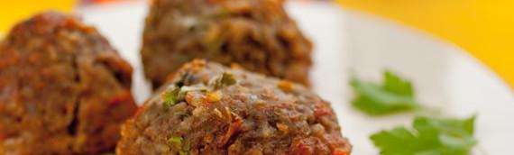 Тефтели в духовке гречневые (вегетарианские)