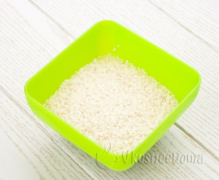 берем крахмалистый рис
