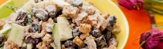 Салат из красной фасоли с сухариками рецепт сытненький