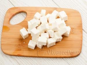 режим кубиками сыр