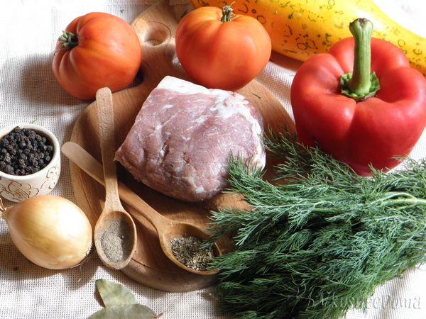 Овощное рагу с мясом рецепт с фото в мультиварке