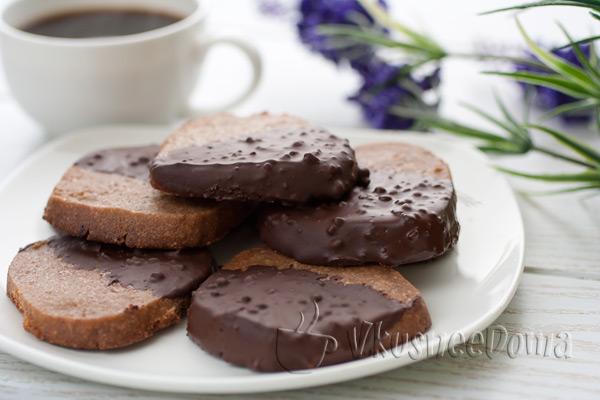 шоколадное печенье рецепт с фото пошагово