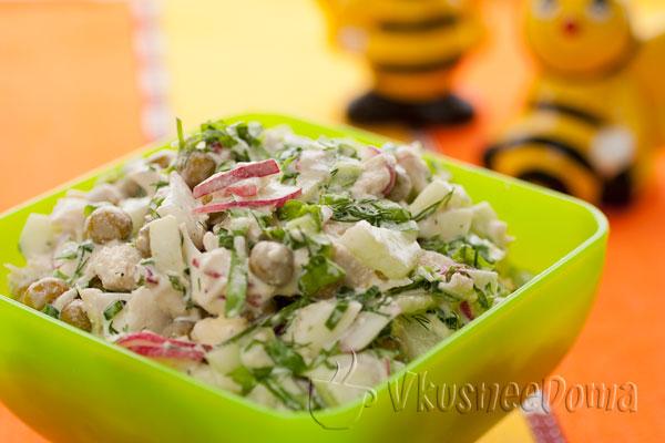 Салат весенний рецепт с фото