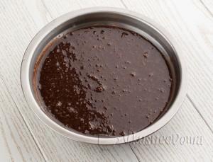 смешиваем с шоколадом