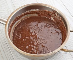 в сироп добавляем какао
