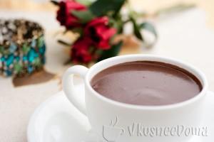 готовый горячий шоколад