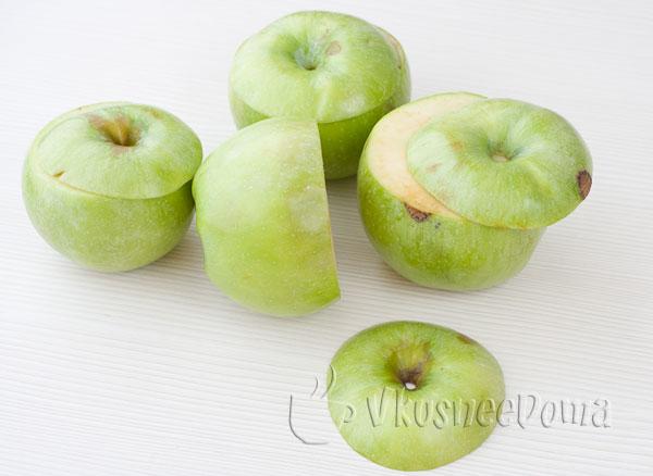 Яблоки в пароварке