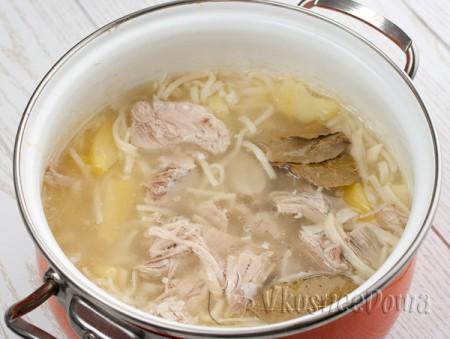 даем супу настояться