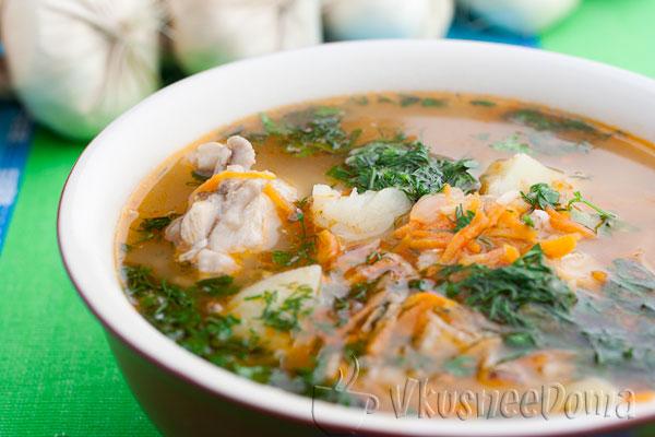 Не солдатский суп с перловкой рецепт с фото