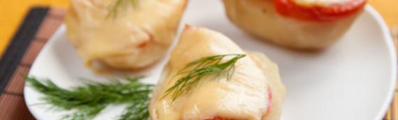 Картошка запеченная в духовке с сыром