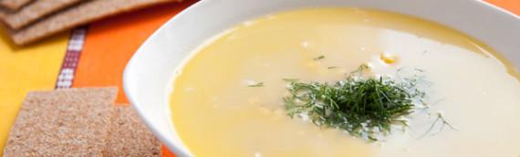 Овощной суп пюре из замороженных овощей