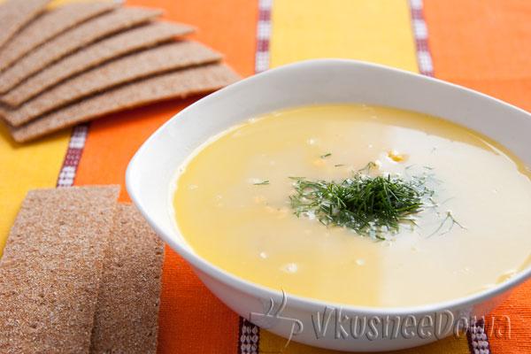Суп пюре из замороженных овощей