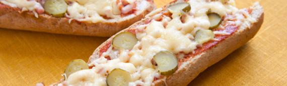 Быстрая и ленивая пицца из батона это еда для мужиков
