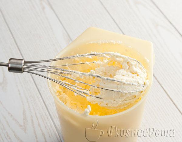 Бисквит с кремом рецепт