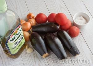 ингредиенты для консервации баклажан