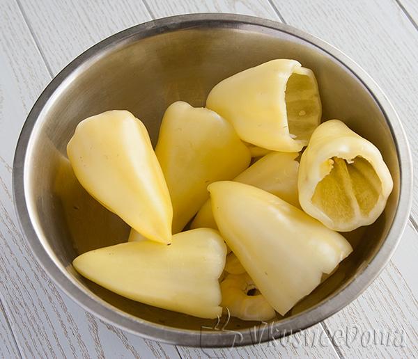 чистим сладкий перец
