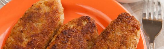 Рецепт куриных котлет — крутолет (киевские рестораны 80-х)
