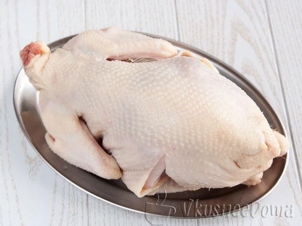 курица не большая