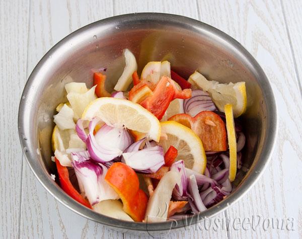 овощи для запекания в духовке