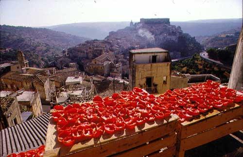 вяленые помидоры в Италии
