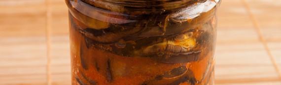 Баклажаны Огонек рецепт на зиму