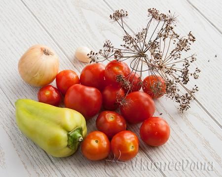 ингредиенты для маринованных помидор