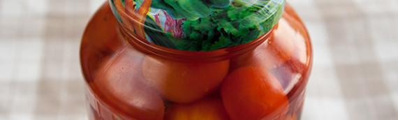Помидоры маринованные рецепт с фото