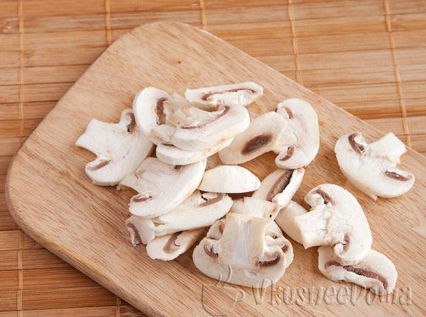 крупно режим грибы