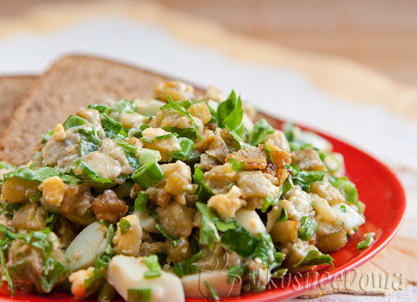 Салат из баклажанов вкуснотища а-ля «Монте-Карло»