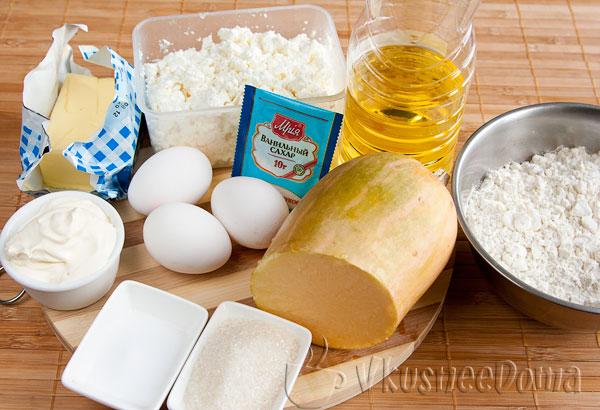 продукты для штруделя