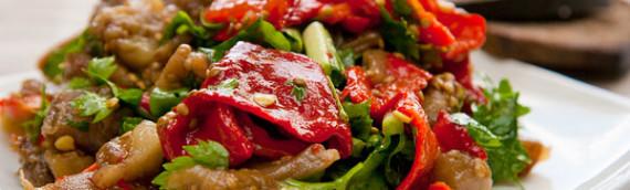 Эскаливада — запеченные овощи в духовке рецепт с фото