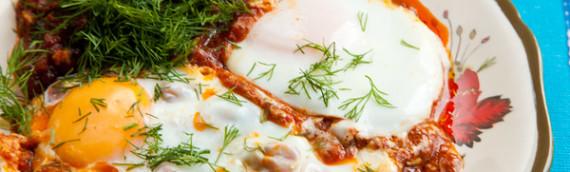 Еврейская яичница шакшука рецепт пошагово с фото
