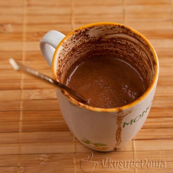 Вкусная овсяная каша на молоке с шоколадом