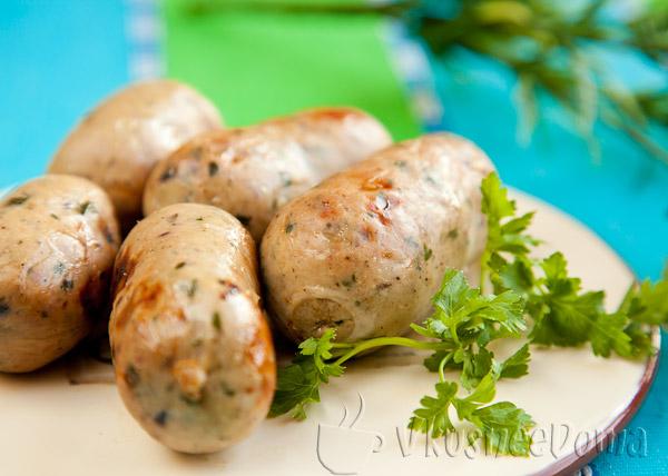 Немецкие колбаски рецепт с фото