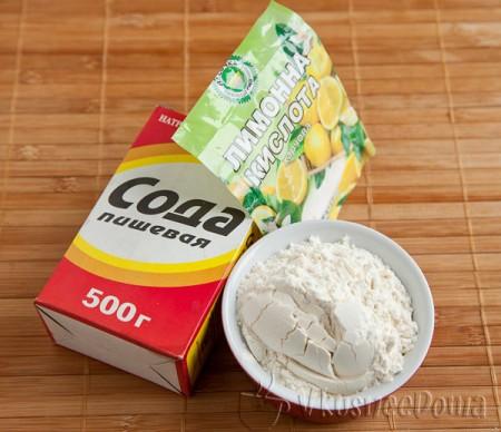 ингредиенты для разрыхлителя