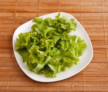 листья салат рвем или режем
