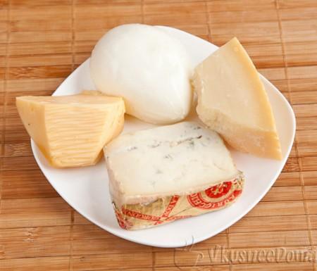 4 сыра которые используются в пицце