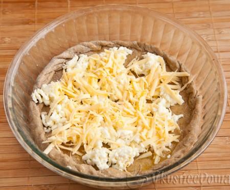 плюс моцарелла и желтый сыр