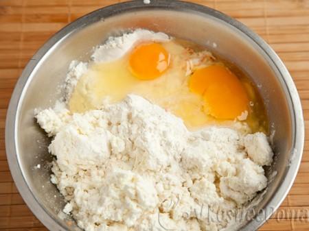 + яйца и муку