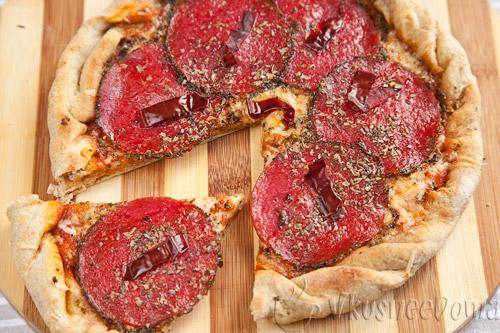 пицца быстрый рецепт в домашних